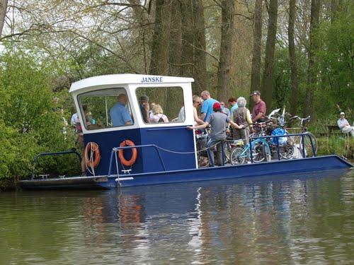 Een bootje met mijn 2e naam Janske er op.