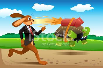 25468669-tortoise-and-hare-racing